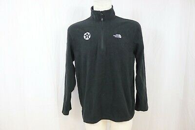 The North Face Man's Polartec Fleece Half Zipped Thermal Hiking Outdoor Top sz L