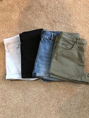 Girls H&M summer shorts age 13-14 years