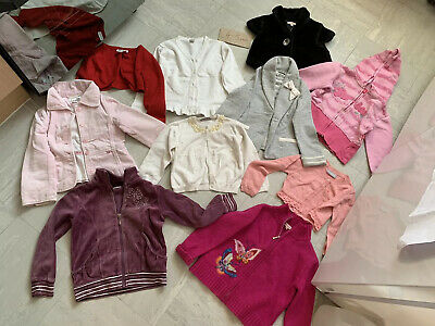 Lovely Bundle Of Girls Cardigans, blazers, Suits And Hoodies, girl 4-5 years