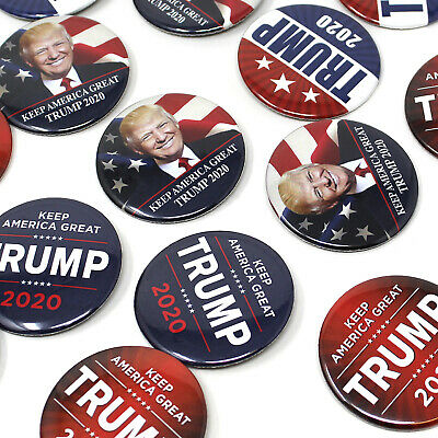 Trump 2020 Presidential Campaign Buttons President Trump Re-election Button 12pc