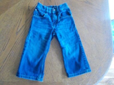 Next Blue Denim Jeans With Adjustable Waist Size 3 Years 98cm