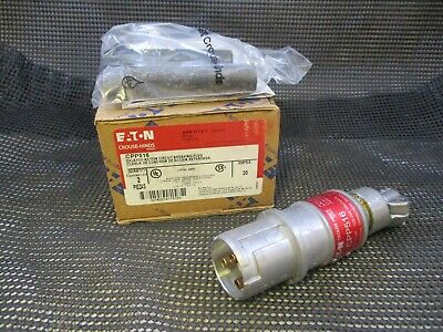Crouse Hinds Cpp516 Explosion Proof 20 Amp 120V Plug Mates W/ Cps152R Receptacle