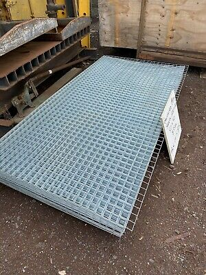 NEW GALVINISED MESH STEEL SHEETS 50 x 50 [1200 x 2400]