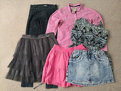 bundle of girls clothes size 13-14 years Next, H&M, Vertbaudet, Zara