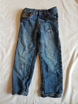 Baby Gap Jeans Age 4yrs. in faded blue. distressed look. straight fit.