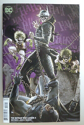 The Batman Who Laughs #4 - Kaare Andrews Variant 1st Printing April 2019 NM- 9.2