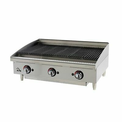 Star 6136RCBF (QUICK-SHIP) Star-Max Charbroiler gas countertop