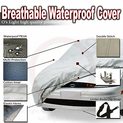 Fit Acura Integra//RSX Car Cover Waterproof UV Sun Rain Dust All Weather Protect