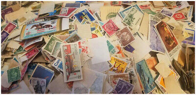 Worldwide Stamps Lot - 100 - Unsorted, Off Paper