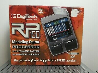 DigiTech RP150 Multi-Effects Guitar Effect Pedal in box No cables