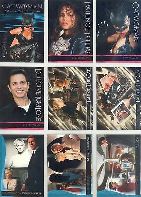 Catwoman (Batman) The Movie - Complete 72 Card Set - 2004 Inkworks - NM