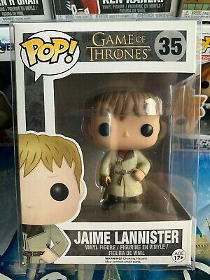 Funko POP! Game of Thrones! JAIME LANNISTER GOLD HAND! Vaulted! w/Pop shield!