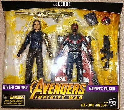 Marvel Legends Hasbro Avengers Infinity War Falcon & Winter Soldier 2 Pack MISB