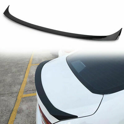 New Rear Spoiler Wing Trunk Lip Painted Black Style For NISSAN Altima 2016-2018
