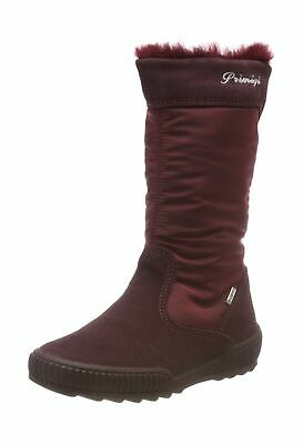 Primigi Girls' Pligt 23847 Snow Boots 13 UK Child Red Vino Bordo 33
