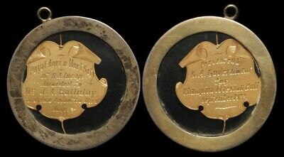 SOUTH AUSTRALIA : 1922 Royal Agricultural & Horticultural Society gold medal .