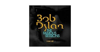 BOB DYLAN - The Famous Sessions - 3xCD Album Brand New & Sealed