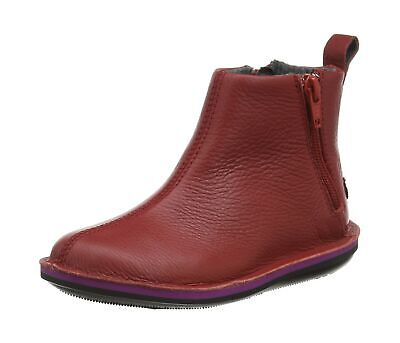 Camper Girls' Beetle Kids Slouch Boots 7.5 UK Rot Medium Red 610