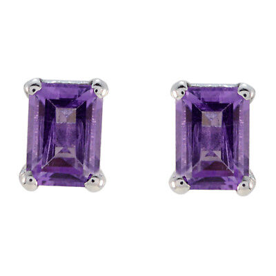 enticing Amethyst 925 Sterling Silver Purple genuine jewellery US gift