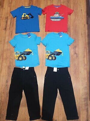 Twin boy.  Age 5-6 yesrs. Bundle.  Next, Mountain warehouse,  Nutmeg. BNWT
