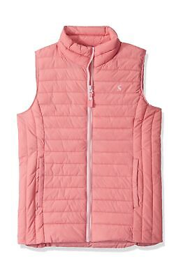 Joules Girl's Croft Gilet 6 Years Pink (Cherry Blossom Chrblsm)