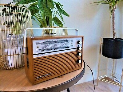 Schaub Lorenz Amigo Portable Transistor Radio / Kofferradio 1967 - Working