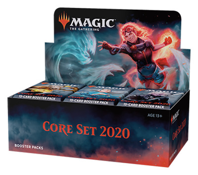 Magic The Gathering Core 2020 Sealed Booster Box (36 Packs) sealed new