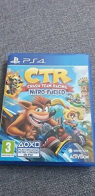 Crash Team Racing: Nitro-Fueled -- Standard Edition (Sony PlayStation 4, 2019)