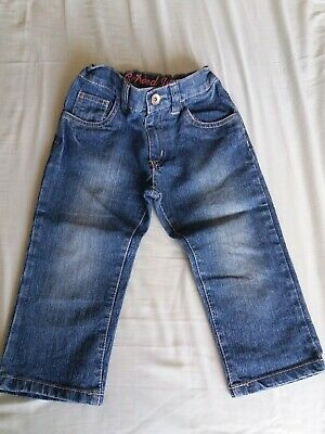 Girls Cropped Jeans Age 5-6years