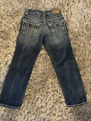boys true religion jeans age 5 years vgc