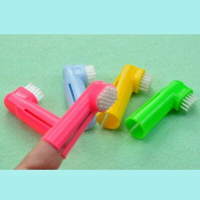 Cat Dog Finger Toothbrush Pet Dental Care Tooth Brush Mouth Cleaning Brushes