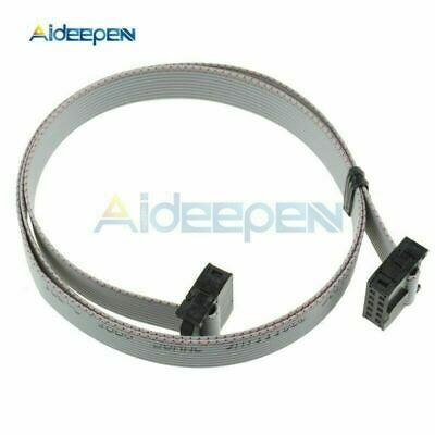 2x 2.54mm (2x5) 10 Pin Female to Female IDC 70cm Connector Ribbon Cable Computer