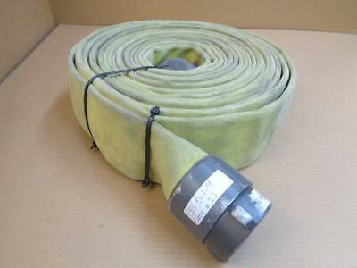 "PSIG 400 Niedner XL-800 Municipal Fire Hose 50'x3.0"" w/ Redhead Brass Fittings."