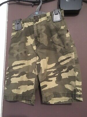 Boy's Next Camouflage Shorts Aged 9 Years (134cm)
