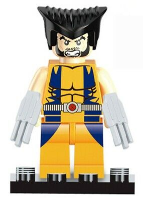 G3 - Wolverine Yellow Suite - Custom Minifigure Gashapon LEGO - Nuovo in Blister
