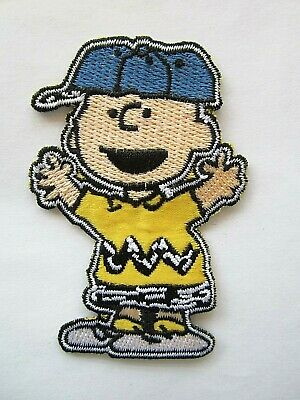 Charlie Brown Snoopy Woodstock Peanuts Iron On Patch Applique Sewing, New