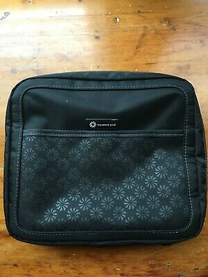 Squeeze Pod Slim Toiletry Travel Bag - 2 Bags In 1: Durable Nylon Toiletry Case