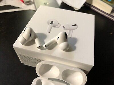 Apple AirPods Pro - White Only Used Sparingly For Two Months - Engraved