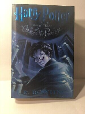 Harry Potter and the Order of the Phoenix 1st American Edition Book 5 JK Rowling