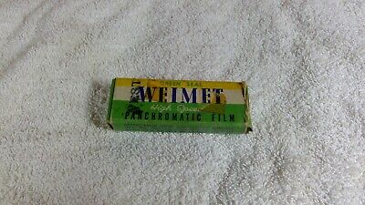 Lot 6 ROLLS Panchromatic Film - Vintage / Expired GREEN SEAL WEIMET High Speed