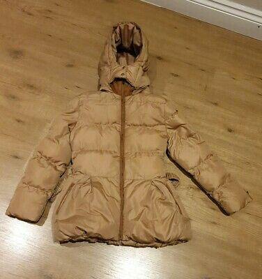Chloe  C16161 Girls  Coat With Belt   Size 8 For  8 Year old