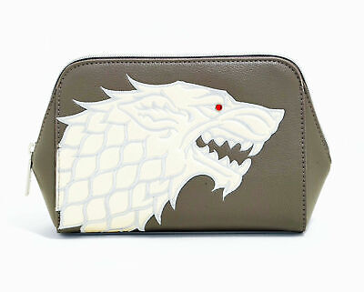 House Stark Game of Thrones Danielle Nicole Cosmetic Bag Brand New