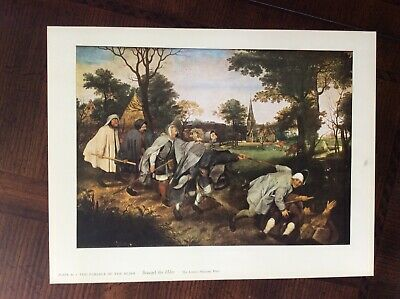 BLIND BUDDHIST MONKS EXAMINING ELEPHANT PARABLE PAINTING ART REAL CANVAS PRINT