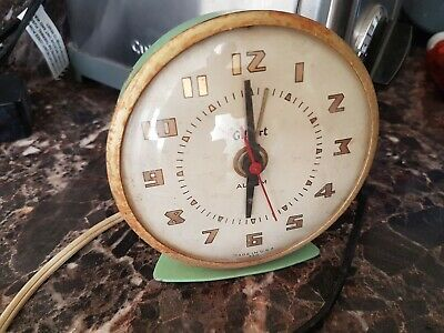 Vintage Gilbert Alarm Clock Cute Little Clock