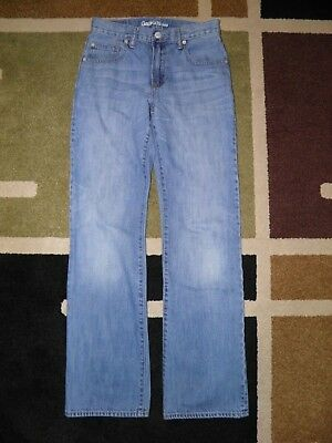 Boys Gap Kids Boot Cut Blue Jeans Size 16 Slim