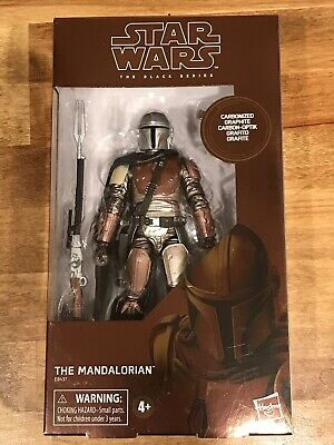 Star Wars THE MANDALORIAN Black Series Carbonized Graphite Target Exclusive