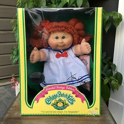Xavier Roberts, Limited Vintage Edition, Cabbage Patch Kid, 1983 As New UNOPENED