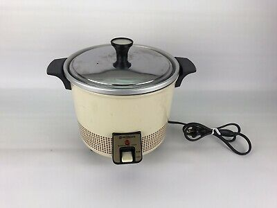 Hitachi RD-405F Automatic 5.6 Cup Food Steamer / Rice Cooker #SHD