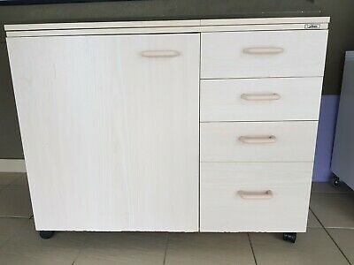 Horn Sewing Machine Cabinet with room for overlocker