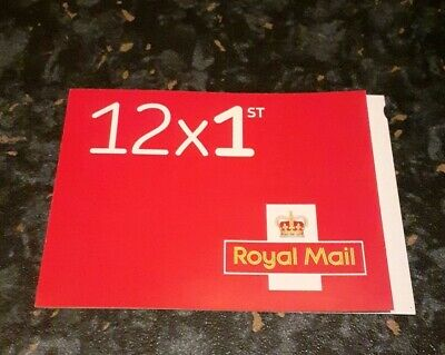 12 x First Class Royal Mail Genuine stamps Self Adhesive